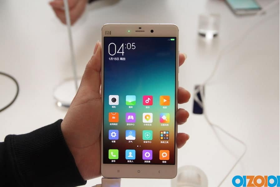 Xiaomi Note Hands On