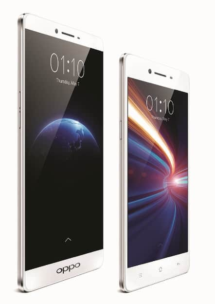 oppo front