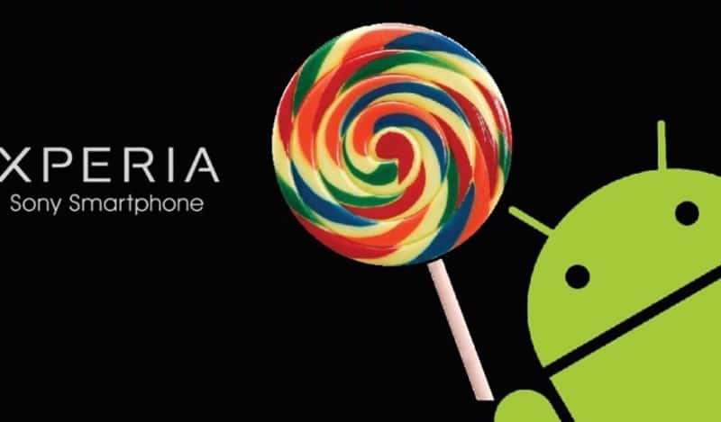 sony android lollipo