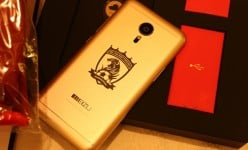 Meizu MX5 Hengda version with Golden theme and Hengda scarf