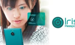 Fujitsu Arrows NX F-04G: 2K display, 20.7MP Sony cam and the first iris scanner in the world