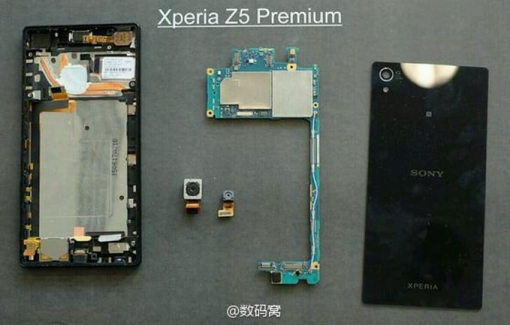 Xperia Z5 Premium Cooling System