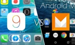Android 6.0 Marshmallow vs Apple iOS 9: HOT visual comparison