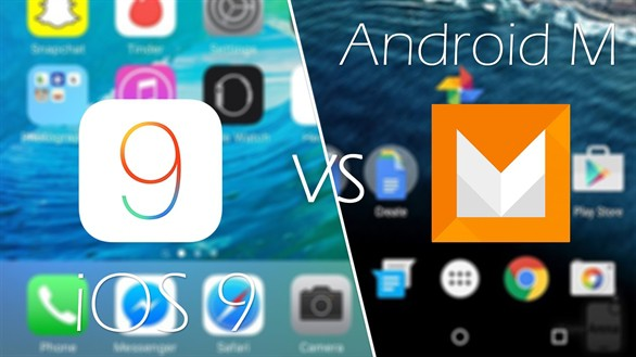 android 6.0 marshmallow vs apple ios 9