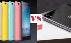 Xiaomi Mi4c vs OnePlus X: Mid-rangers Battle