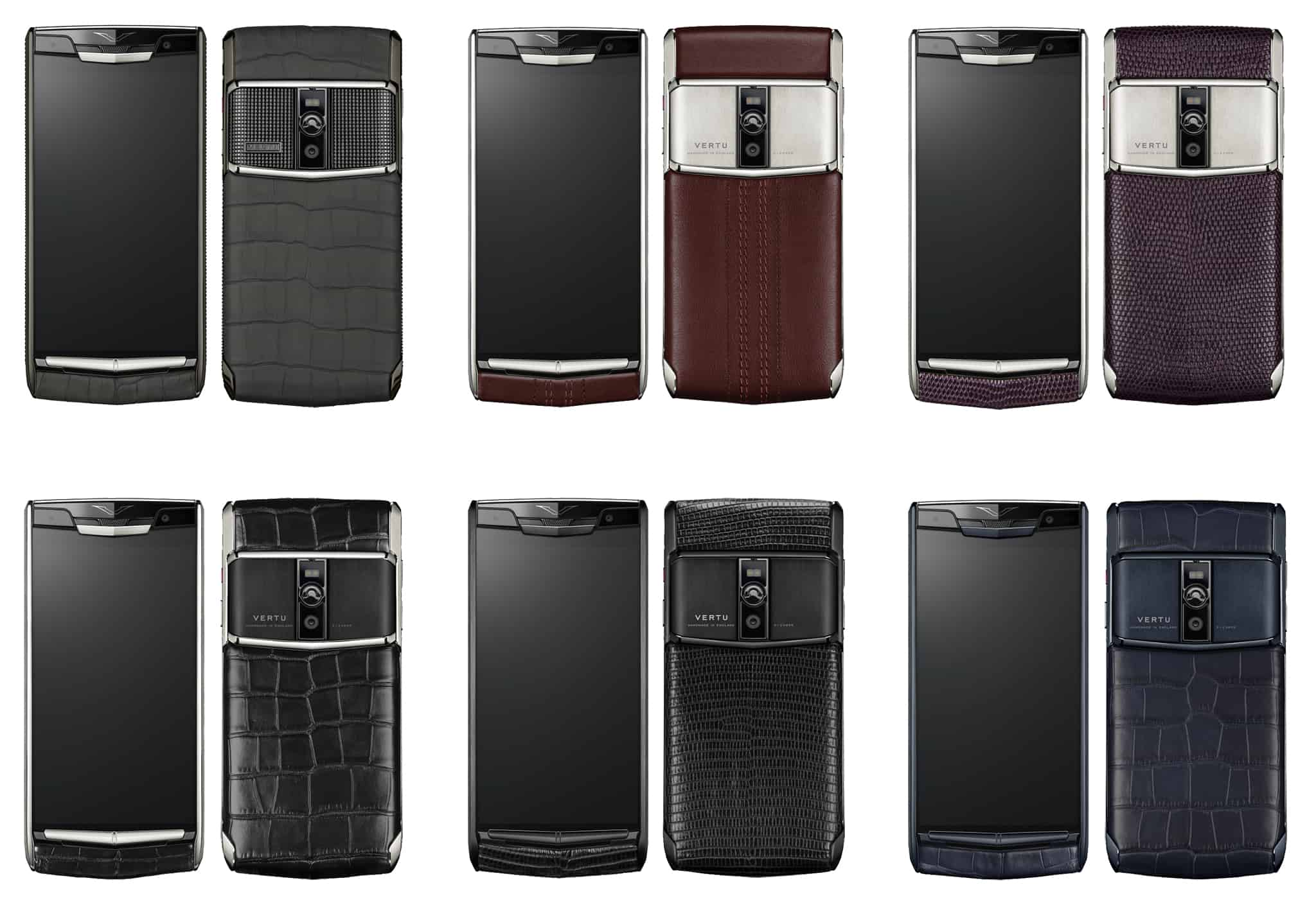 Vertu New Signature Touch design - perfect to the smallest details