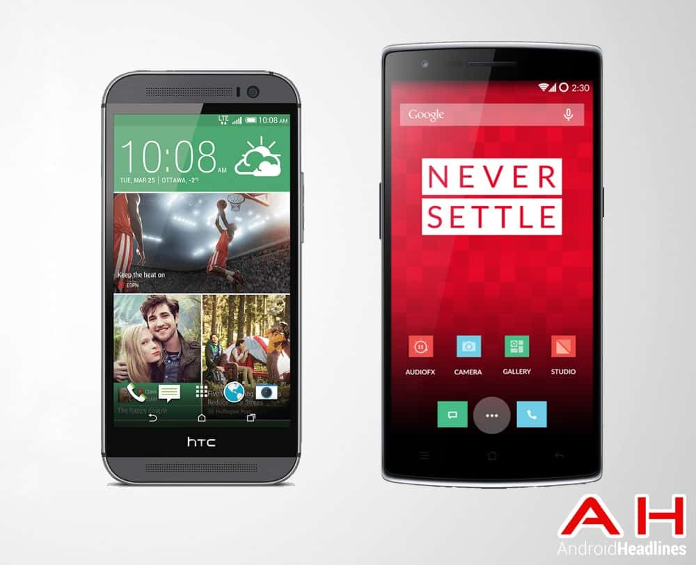 OnePlus One Vs HTC One (M8)