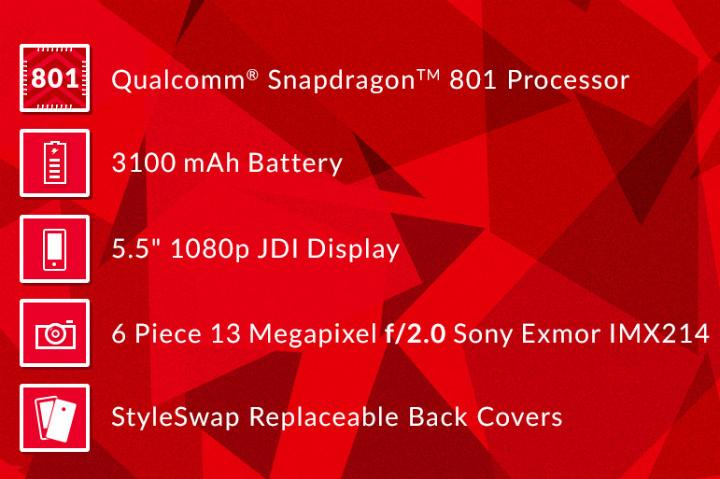 One Plus One Specifications