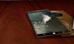 Super slim Lumia FN smartphone with 4K display