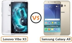Samsung Galaxy A9 VS Lenovo Vibe X3: 3GB RAM and 3,600mAH for only….