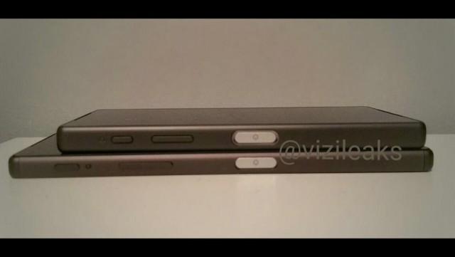 Ảnh rò rỉ trước đây của Sony Xperia Z5 và Sony Xperia Z5 Compact