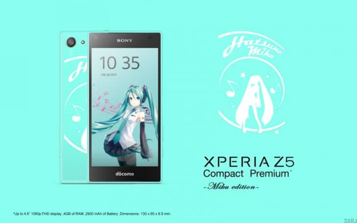xperia z5 compact premium