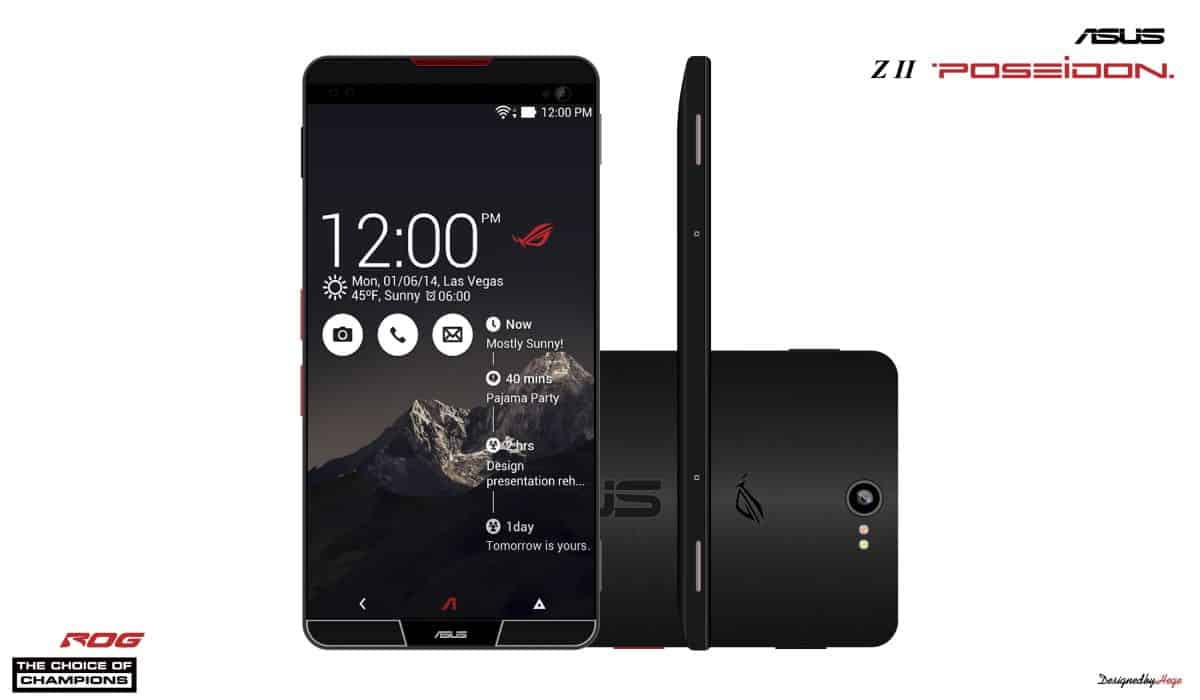 ASUS Z2 Poseidon leaking with 6GB RAM and Android 7.0 ...
