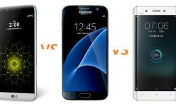 4GB RAM flagship specs battle: LG G5 VS Galaxy S7 VS Vivo Xplay 5