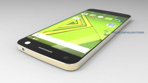 Lenovo Moto X 2016 with 3D video rendering