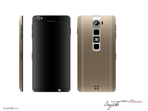 bugattie chronos phone