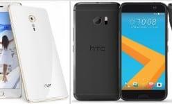 Lenovo Zuk Z2 vs HTC 10: Snapdragon 820, 565ppi