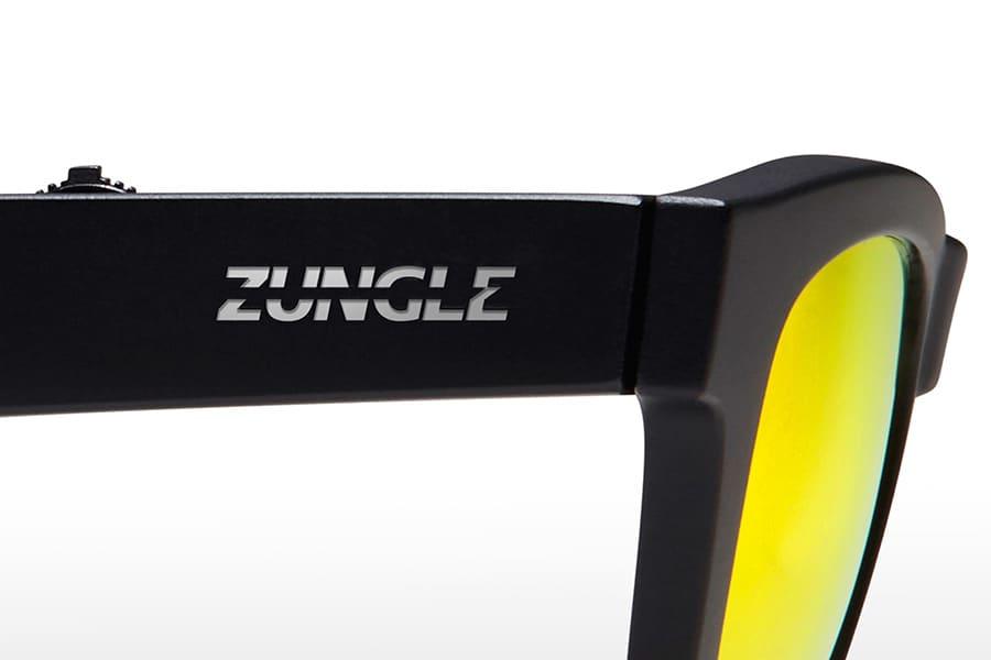 Zungle Panther Sunglasses New Vibrant Tech Through Skull