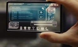 Transparent smartphone is coming true