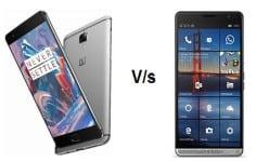 HP ELite X3 vs OnePlus 3: SND 820, 5.8-inch display,…