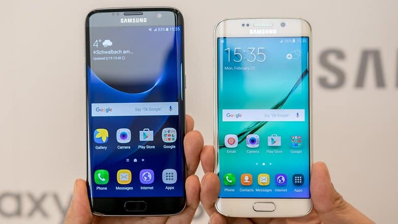 Samsung Galaxy Note 7 vs Samsung Galaxy S7