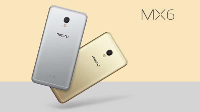 Meizu MX6 launch