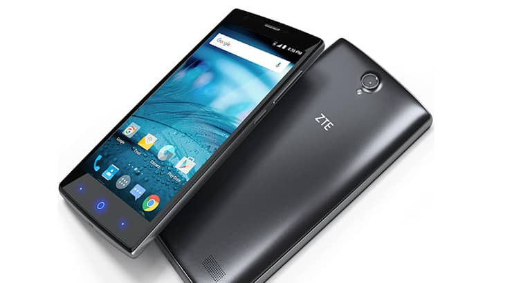 The zte zmax 2 ram also supports memory