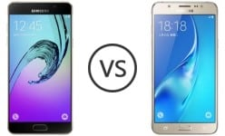 Galaxy J7 vs Galaxy A5: Specs & features comparision