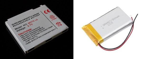 phone battery technologies LiPo