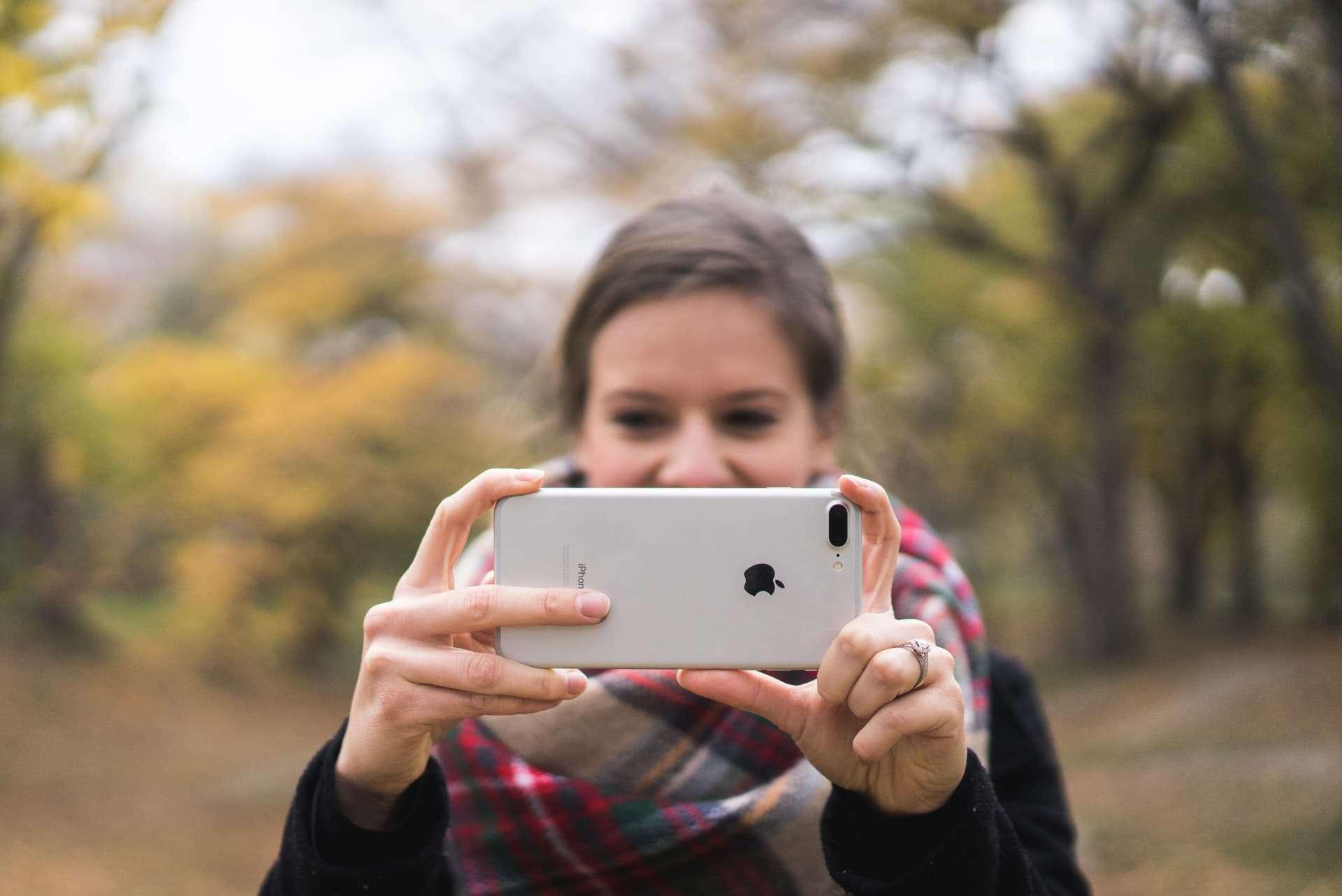 Как сделать портретное фото на айфоне 7