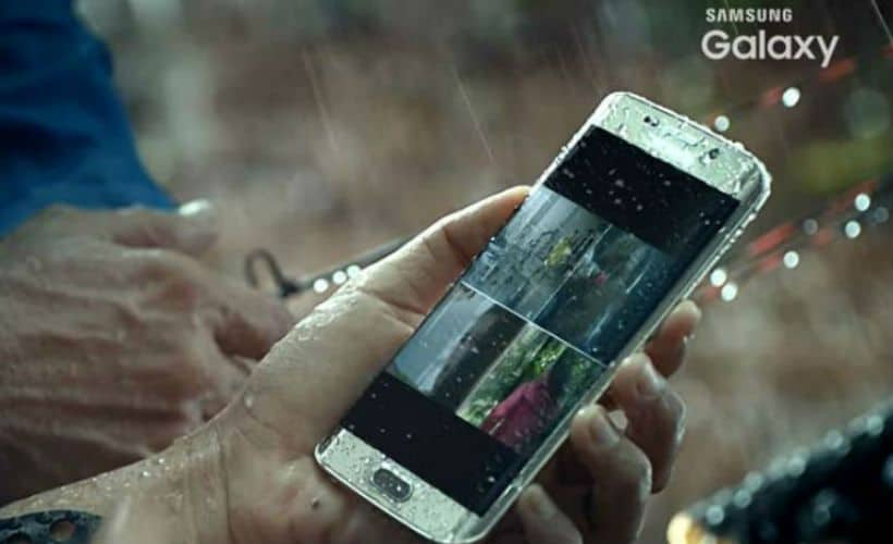 things not to do phone rain