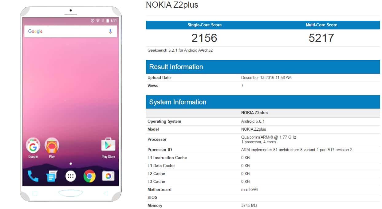 Nokia-Z2-Plus-score