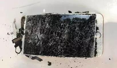 Exploding iPhone