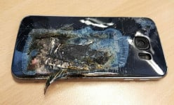 Another Samsung Smartphone explosion: Samsung Galaxy S6