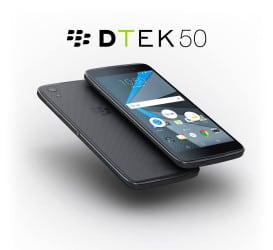 Blackberry DTEK50 phone
