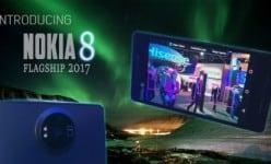 Nokia 8 vs iPhone 8 flagship battle: 128GB ROM!