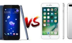 HTC U11 vs Apple iPhone 7 Plus: 6GB RAM, Dual 12MP…