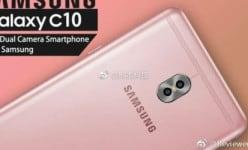 Samsung Galaxy C10: Dual cam, SDN 660, 6GB RAM …