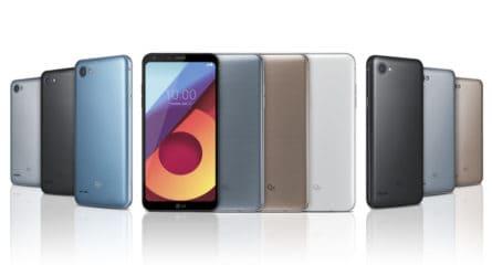 LG Q6 Plus phone