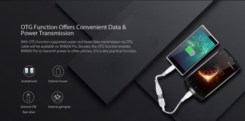 Blackview BV8000 smartphone