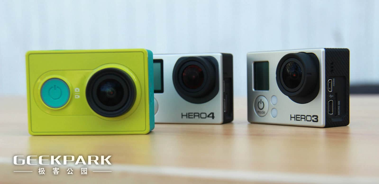 Xiaomi Yi Action Camera Compared With The Gopro Hero