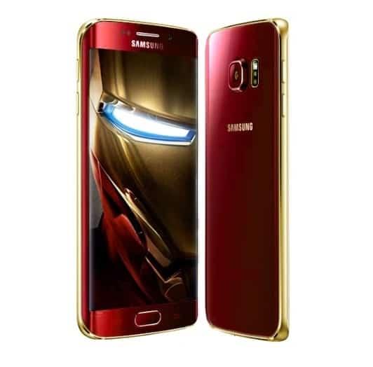 Samsung Galaxy S6 Avengers - Iron Man
