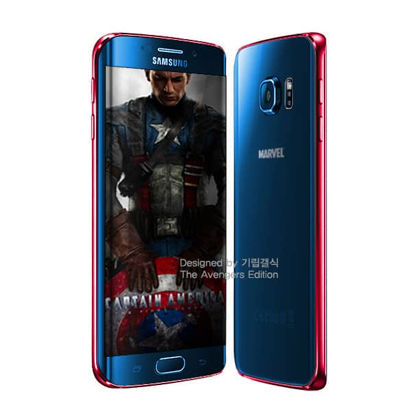 Samsung Galaxy S6 Avengers versions 4
