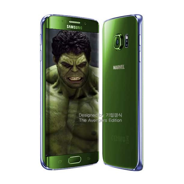 Samsung Galaxy S6 Avengers versions 2