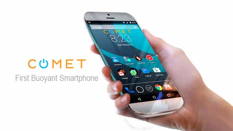 Comet Smartphone 4gb Ram And Dual 16mp That Float In