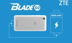 ZTE Blade D2 – A new budget 4,000mAh smartphone