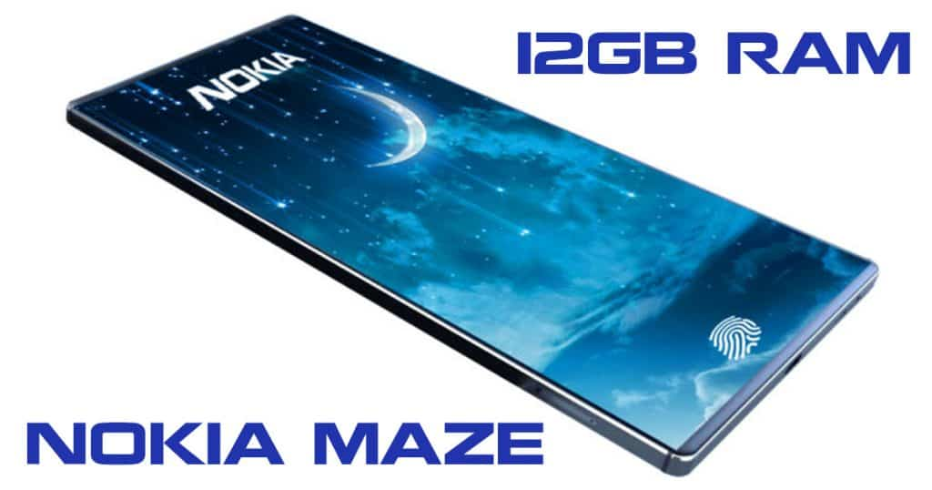 Nokia Maze 2019 flagship: 12GB RAM, 7800mAh battery, dual 42MP cameras!