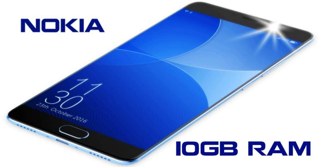 Nokia 9.1 Plus flagship: 10GB RAM, penta 41MP Cameras