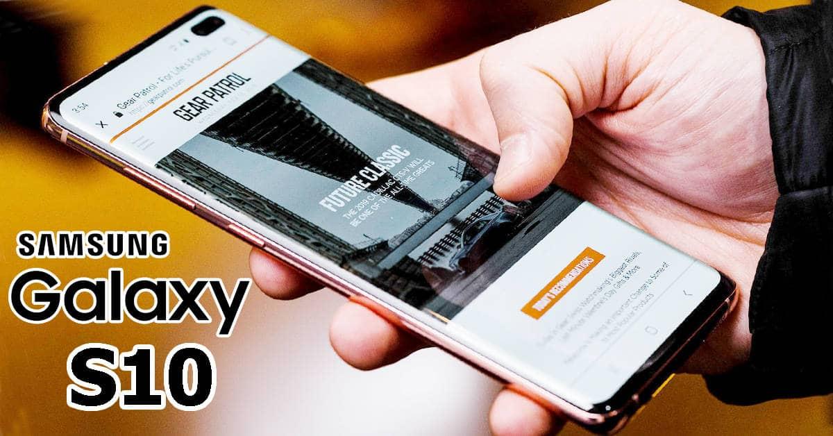 Samsung Galaxy S10 5G Chinese