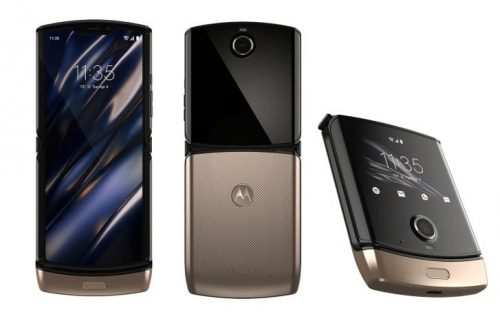 Motorola Razr Blush Gold